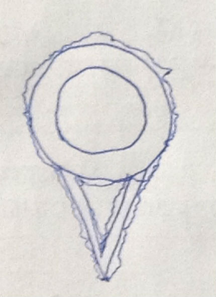 Witness Sketch of Object Bright Orange