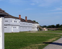 Fort George {C - Wikicommons}
