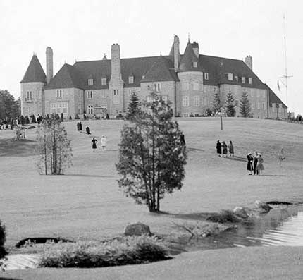 Eaton Hall King City Circa 1940